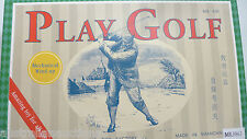 Retro Classic Tin Toy Adult Golf Game Great Gift for the Golfer with Everything