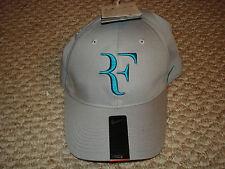 NWT Nike Federer RF Dri-FIT Tennis Hybrid Legacy 91 Hat Cap Gray 371202-069 New