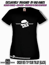 Ladies SKA T Shirt. Small to XXL. Women's ska, 2 tone - Exclusive collectors.