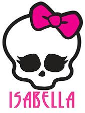 "Monster High Skullette Personalized Iron On Transfer 5""x6.75"" For LIGHT Fabrics"