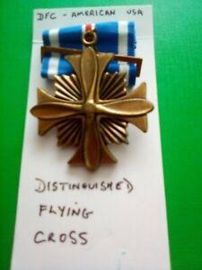 WW2 USAAF MEDAL American DFC  Distinguished Flying Cross
