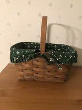 Reduced Again 1984 Spring Basket with Classic Green Liner