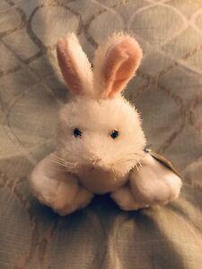 Ganz Webkinz White Rabbit Bunny NWT Full Size Unused Sealed Code HM078
