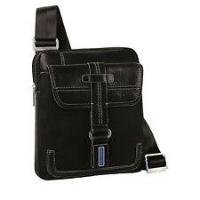 Piquadro, Land, Black organized shoulder pocketbook CA1358LA/N