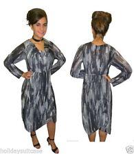All Seasons 3/4 Sleeve Wrap Dresses