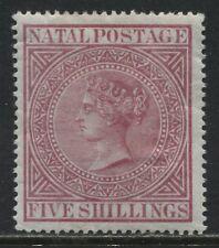 Natal QV 1878 5/ rose mint o.g.