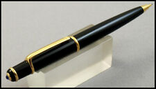 MINT CARTIER DIABOLO BLACK COMPOSITE WITH GOLD FINISH AND BLUE MECHANICAL PENCIL