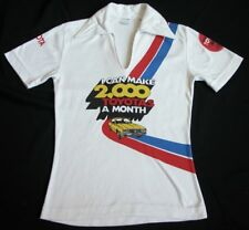 Rare Vtg 60s 70s TOYOTA CORONA Muscle Car Cotton T Shirt S SMALL 2000 a Month