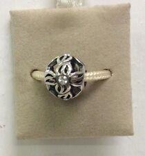 Chamilia Jewelry Pinwheel Clear Swarovski Charm Sterling Silver Round Bead