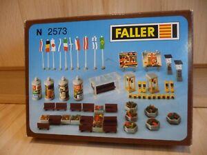 Faller 2573 - Stadtdekoration - Maßstab N in OVP !!!