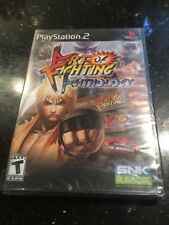 Art of Fighting Anthology  Playstation 2 PS2 Brand New Factory Sealed Rip Corner
