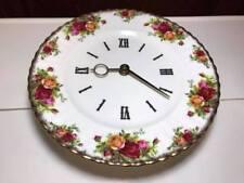 Royal Albert Old Country Roses Wall Clock
