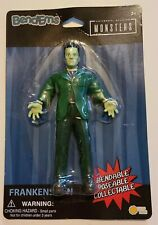 "UNIVERSAL STUDIOS MOVIE MONSTERS BEND-EMS BENDY FRANKENSTEIN  6"" CARDED FIGURE"