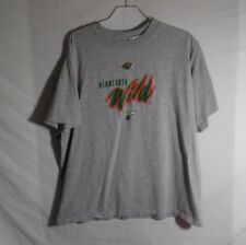 MINNESOTA WILD NHL HOCKEY CCM T-Shirt REEBOK Size LARGE