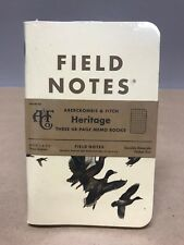 """Field Notes x Abercrombie & Fitch """"Heritage Edition"""" SEALED 3-Pack Memo Notebook"""