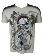 Herren-T-Shirts aus Baumwolle mit Totenkopf M