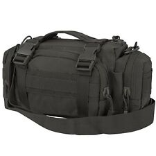 Condor #127 Deployment MOLLE Shoulder Go Bag Man Purse Butt Pack Pouch Black
