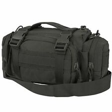 Condor #127 Tactical Deployment MOLLE Hunting Shoulder Go Bag Butt Pack Black