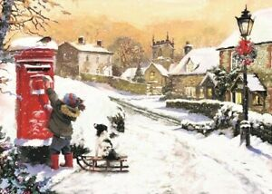St Ann's Hospice Charity Christmas Cards 'Last Post' Pack of 10 Cards
