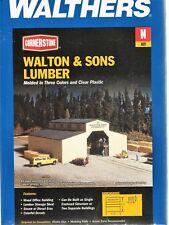 N Scale Walthers Cornerstone 933-3235 Walton & Sons Lumber Building Kit