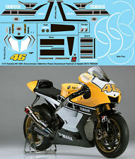 1/12 Valentino Rossi Yamaha M1 Goodwood Festival of Speed 2015 Decals TBD239