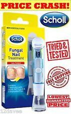 SCHOLL FUNGAL NAIL TREATMENT KILLS 99.9% of nail Fungus, 3.8ml system+nail files