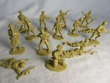 Matchbox WWII 8th Army Toy Soldiers, (54MM) 15 in all 13 poses - North Africa