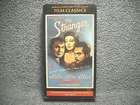 THE STRANGER - VHS - EDWARD G ROBINSON - LORETTA YOUNG - ORSON WELLES - SEALED