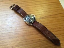 Handmade 24mm Watch Strap And Buckle For Panerai Etc