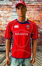 Canterbury Authentic TEAM USA United States RUGBY JERSEY Shirt Men's Size M