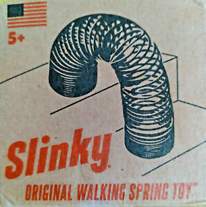 SLINKY Classic Retro Original Walking Spring Toy  UNOPENED BOX