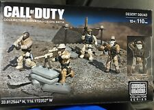 Mega Bloks Call of Duty Desert Squad CNG78 Collector Set