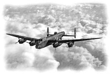 RAF 100 YEARS LANCASTER A3 LIMITED EDITION  Print