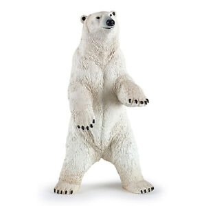 Papo Standing Polar Bear Animal Figure NEW