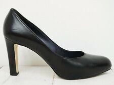 HÖGL 💕 Damen Pumps Gr. 40 (6.5) Leder Schwarz High Hells Schuhe