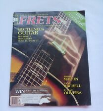 Frets Magazine of Acoustic String Instruments Music Instrumental March 1983