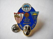a1 SEVILLA SLOVAN LIBEREC ESTORIL FREIBURG europa league 2014 football pins