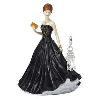 Royal Doulton Petite Pretty Ladies 3 Keys Charm Figurine NEW IN THE BOX