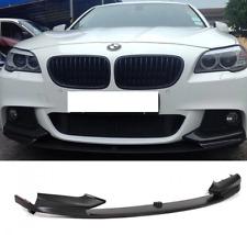 BMW 5 Series F10 F11 Performance Front Splitter Spoiler Lip Valence Skirt Black