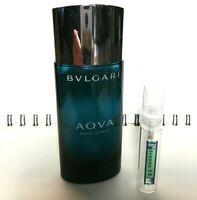 BVLGARI AQVA POUR HOMME - 5ml Glass Decant Atomizer- SAMPLE