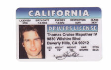 Tom Cruise star of Mission Impossible Ethan Hunt id card Drivers License