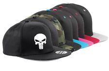 Snapback Cap HAT Punisher Skull Deadpool Adjustable Marvel