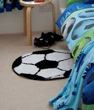 Catherine Lansfield It's a Goal Football Rug Room Decoration