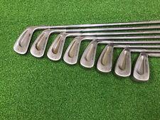 NICE Vintage Cobra Golf PREMIER Iron Set 2-9 Right RH Steel STIFF Used 1980-83