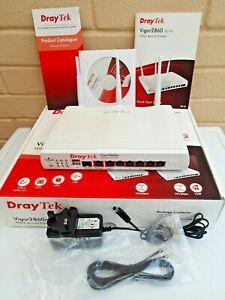 DrayTek Vigor 2860ac VDSL2 ADSL2 Dual Band Wifi VPN Router AC1600 3G 4G