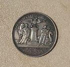 Russia. Empress Anna I.Table Medal.Reproduction.Silver Plated.Victory over Turks