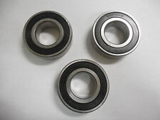 JBS 6205RS 25mm Double Seal Bearing Lot of 3
