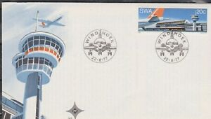 SWA - SOUTH WEST AFRICA 1977 Opening of New Airport Windhoek SG 305 FDC AVIATION