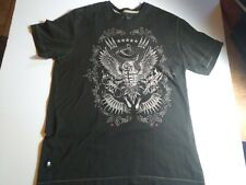 Marc Ecko Black Graphic Grenade Tee Shirt T-Shirt Size Large