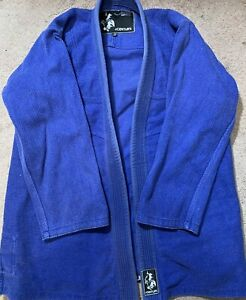 Century BJJ Gi Uniform Blue Top Kimono Only Size A3 Judo Aikido Karate Jujitsu